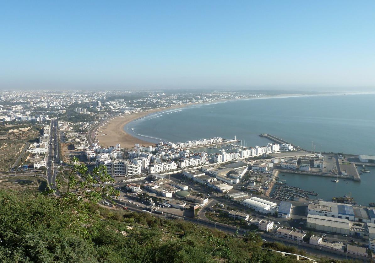 plage Agadir visite, agadir ofla